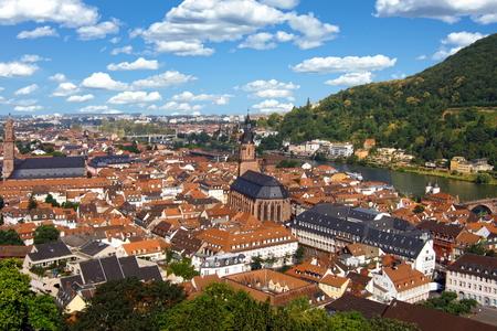 Aerial view of Heidelberg, Germany Standard-Bild - 117353457