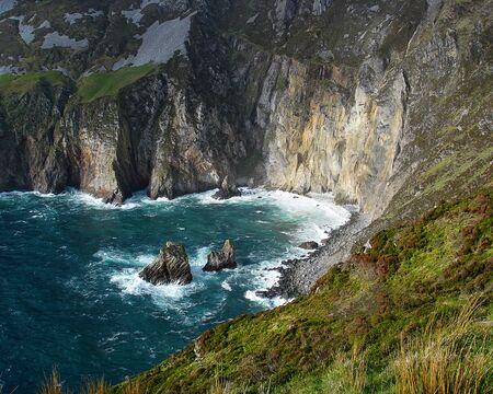 Coast of Slieve League, County Donegal, Ireland Stockfoto