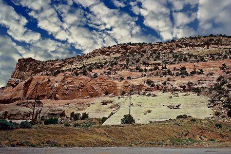 View of the Arizona landscape Stock fotó