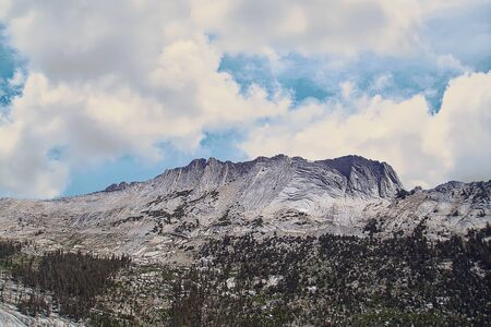 Matthes Crest in the High Sierra of Yosemite National Parks Tuolumne Meadows, California, USA Stock fotó
