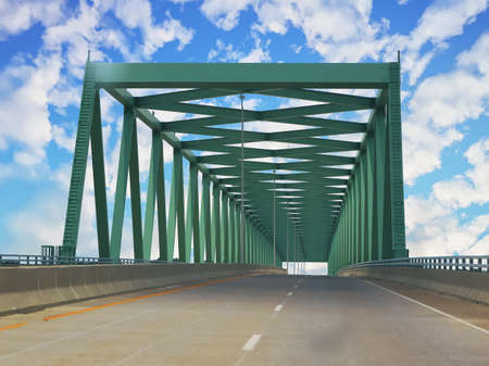 U.S. Route 60 over the Tennessee River in Ledbetter, Kentucky, USA