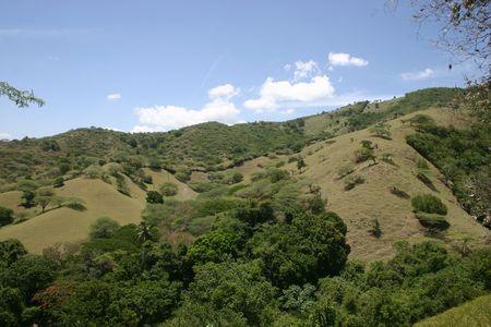Mountains near Laguna Salada, Dominican Republic