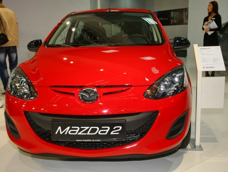 salon automobile: 51e Salon International de Belgrade de voitures, Mars 2013., Mazda 2 �ditoriale