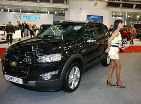 salon automobile: 51e Salon International de Belgrade de voitures, Mars 2013., Chevrolet Captiva
