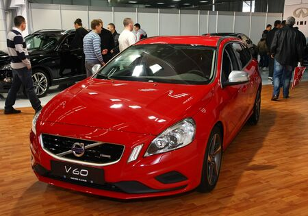 salon automobile: 51e Belgrade Salon de l'Auto International, Mars 2013.Volvo V60 �ditoriale