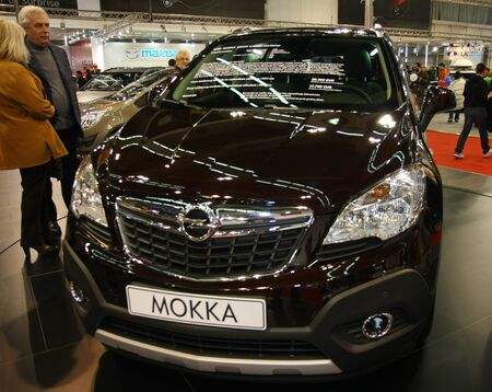 salon automobile: 51e Salon de l'auto international de Belgrade, Mars 2013.Opel Mokka �ditoriale