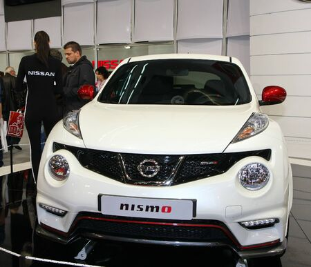 salon automobile: 51e Salon de l'auto international de Belgrade, Mars 2013.Nissan Nismo