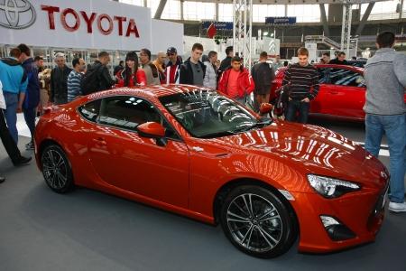 51st Belgrade International Car Show,March 2013.Toyota GT 86 Editorial