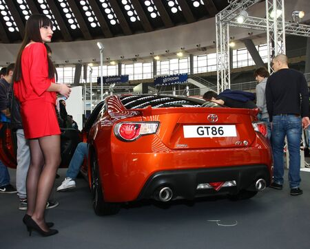 salon automobile: 51e Belgrade Salon de l'Auto International, Mars 2013.Toyota GT 86 �ditoriale
