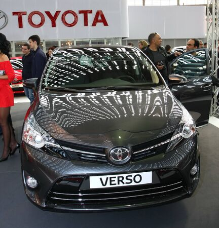 salon automobile: 51e Salon de l'auto international de Belgrade, Mars 2013.Toyota Verso