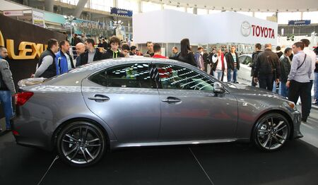 salon automobile: 51e Salon de l'auto international de Belgrade, 2013.Lexus Mars IS 250 �ditoriale