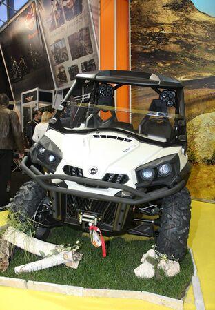 51st Belgrade International Car Show,March 2013.BRP Rotax 1000