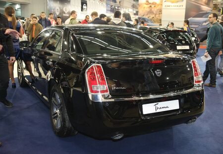 salon automobile: 51e Salon de l'auto international de Belgrade, Mars 2013.Lancia Thema �ditoriale