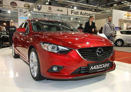 belgrade: 51st Belgrade International Car Show,March 2013.,Mazda 6
