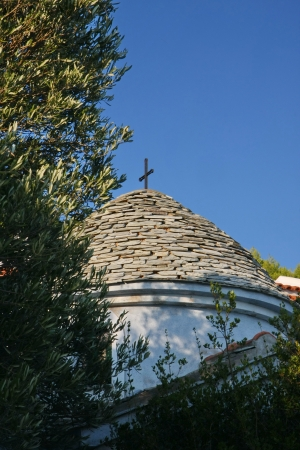 ortodox: Ortodox church in Adrina beach resort on the Greek island skopelos