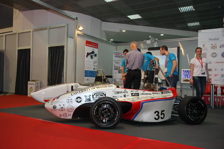 Road Arrow Formula the first Serbian bolid designed and constructed by a team of 30 students from the Faculty of Mechanical Engineering and Faculty of Organisational Sciences in Belgrade Serbia