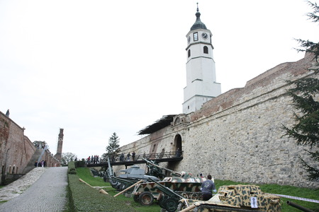 Race of Spartans held on 25 Oktober,2014 on Belgrade fortress Kalemegdan,Serbia as promotion of healthy styles of life