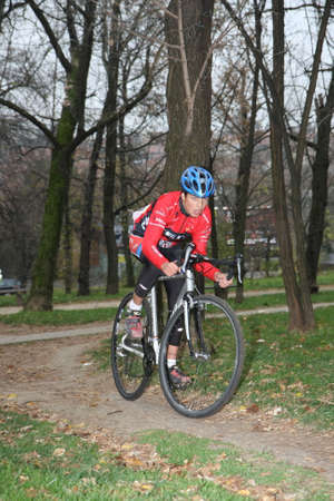 wil: Ciklotron cycling off road race for juniors held in Belgrade Serbia on 16 November 2014 Editorial