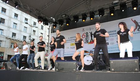 belgrade: The 6th Belgrade Latino Marathon held onThursday the 30th of  May 2015 in Belgrade Serbia