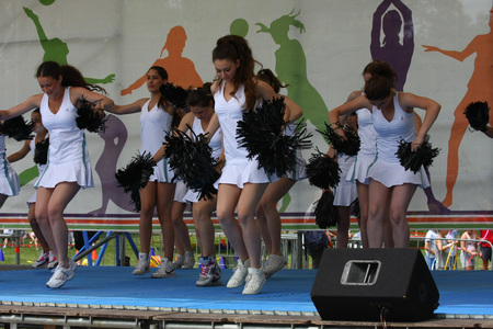 serbia: Festival of womens sport,Jun 2011.Belgrade,Serbia
