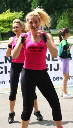 serbia: Festival of womens sport,Jun 2011.Belgrade,Serbia