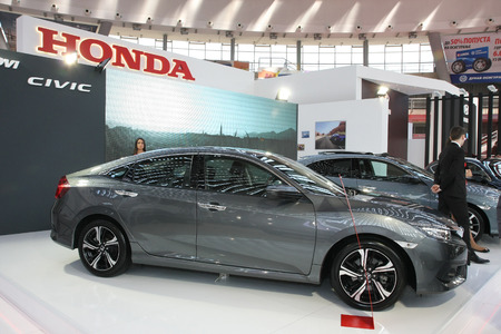 BELGRADESERBIAMARCH Honda Civic D MT Executive - Car sho