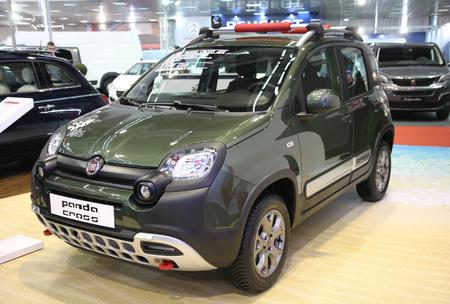 Belgradeserbia March 292017 Fiat Panda Cross 4x4 13 Mjtd Stock