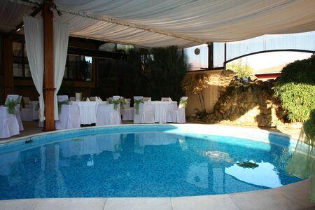 BELGRADE,SERBIA-October 02,2011:  Wedding hall in S Club in Jakovo village near Belgrade