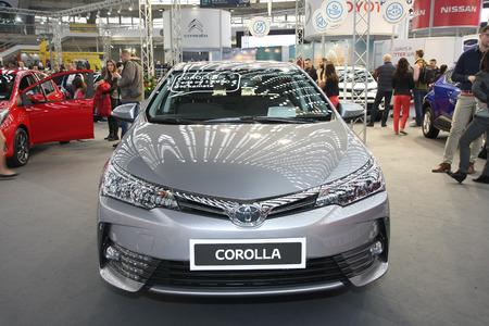 BELGRADESERBIAMARCH Toyota Corolla MC Valvematic - Sd car show