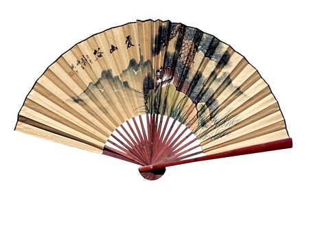 photo of a chinese oriental fan