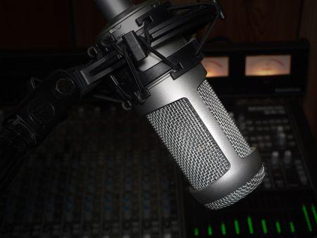 studio vocal recording microphone