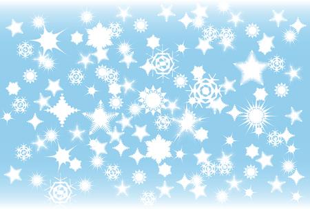 冬の間に、吹雪のベクトル イラスト 写真素材 - 2183557