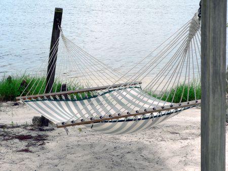 a photo of a hammock