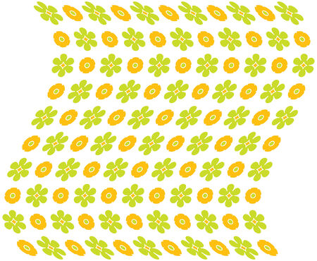 a editable seemless vector floral background in vivid springtime colors Ilustrace
