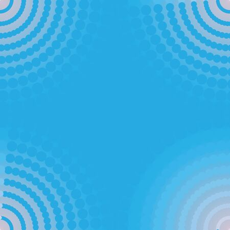 seem: illustration of a seem less tile blue abstract circle pattern