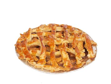 apple pie: homemade apple pie Stock Photo