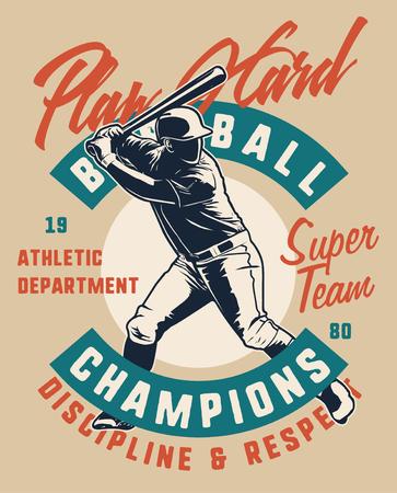 playhard baseball player 免版税图像 - 122379049