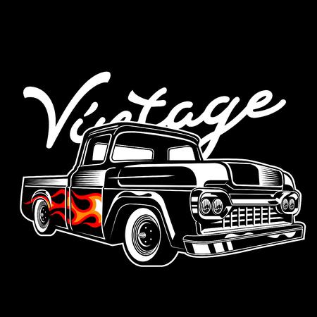 vintage flammo truck