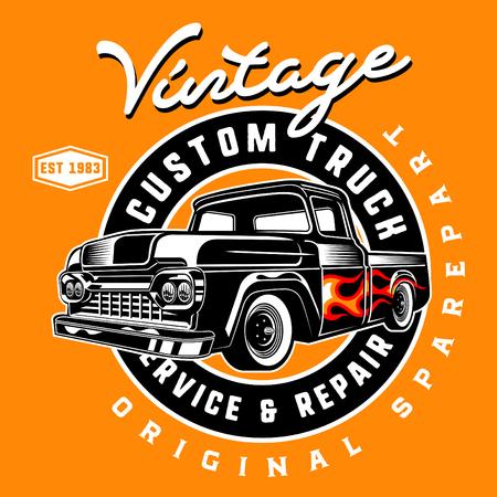 vintage custom truck