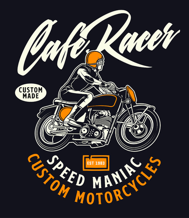 cafe racer speed maniac
