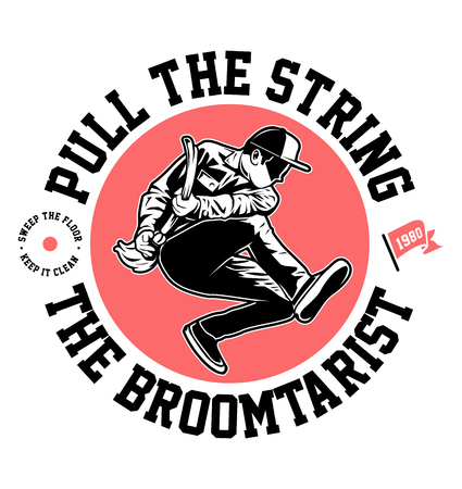 the broomtarist 免版税图像 - 122379064