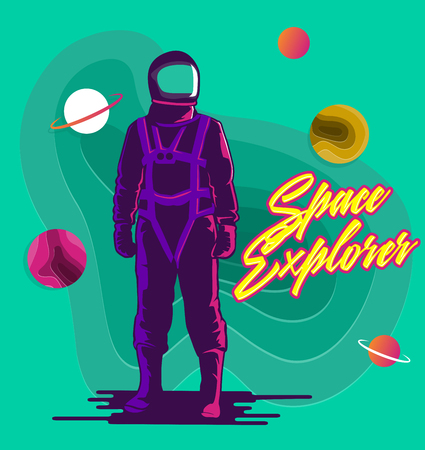 space explorer astronaut