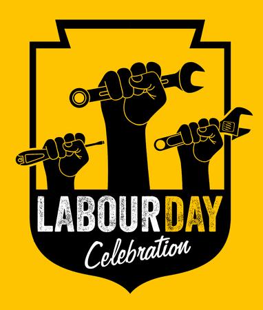labour day 免版税图像 - 122379070