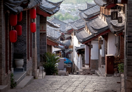 yunnan: A tourist favorite historic town - Lijiang in Yunnan province China