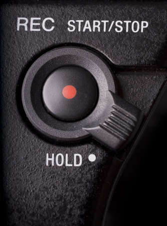 rec: macro of REC button and hold switch on camcorder