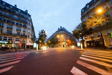 PARIS - SEP 06: Paris in der Nacht am 6. September 2014 in Paris, Frankreich. Nacht Paris haben magische Atmosphäre, ohne die jede Reise nach Paris wäre unvollständig