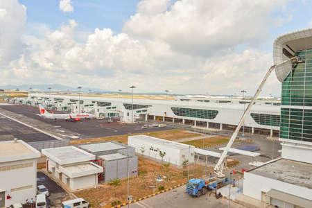 KUALA LUMPUR, MALAYSIA - CIRCA MAY, 2014: KLIA2 at daytime. KLIA2 is the low-cost carrier terminal at KLIA.