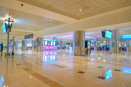-2015 年 11 月頃アラブ首長国連邦、ドバイ: ドバイ国際空港内。それは国際的な乗客交通による世界で最も忙しい空港です。
