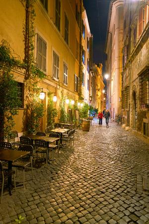 ROME, ITALY - CIRCA NOVEMBER, 2017: Rome urban landscape. Rome is the capital city of Italy.