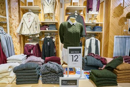 MILAN, ITALY - CIRCA NOVEMBER, 2017: inside Alcott store in Milan.